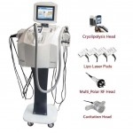Plataform NDV SLIM FORM PLUS  Vacuum + Cryolipolysis + LipoLaser + Cavitation + RF Multipolar