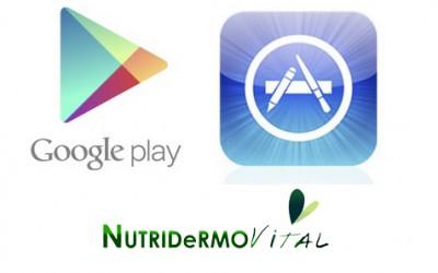 Descárgate nuestra App  NutriDermoVital  para tu Smartphone.