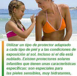 Consejos en relación con la piel y la exposición solar