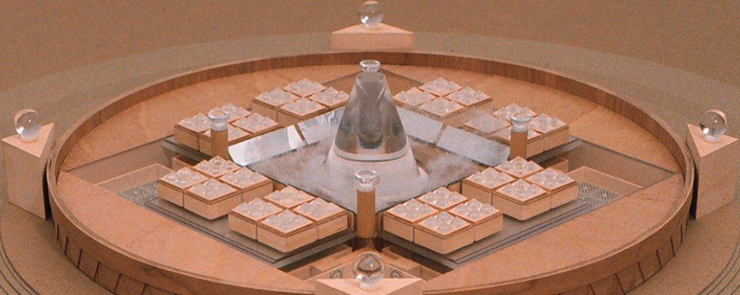 """""""Timeship"""" (nave del tiempo) – El palacio de los 50.000 inmortales"""