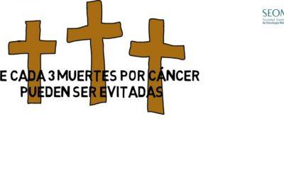Según se desprende del informe 'El cáncer en España 2018', realizado por la Sociedad Española de Oncología Médica (SEOM) El 40% de los casos del cáncer se pueden prevenir