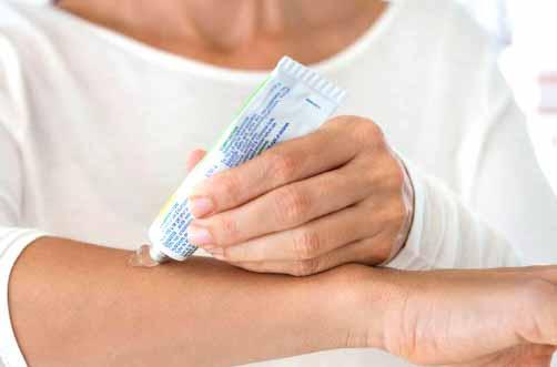 Algunas anestesia tópicas para aumentar el confort del paciente