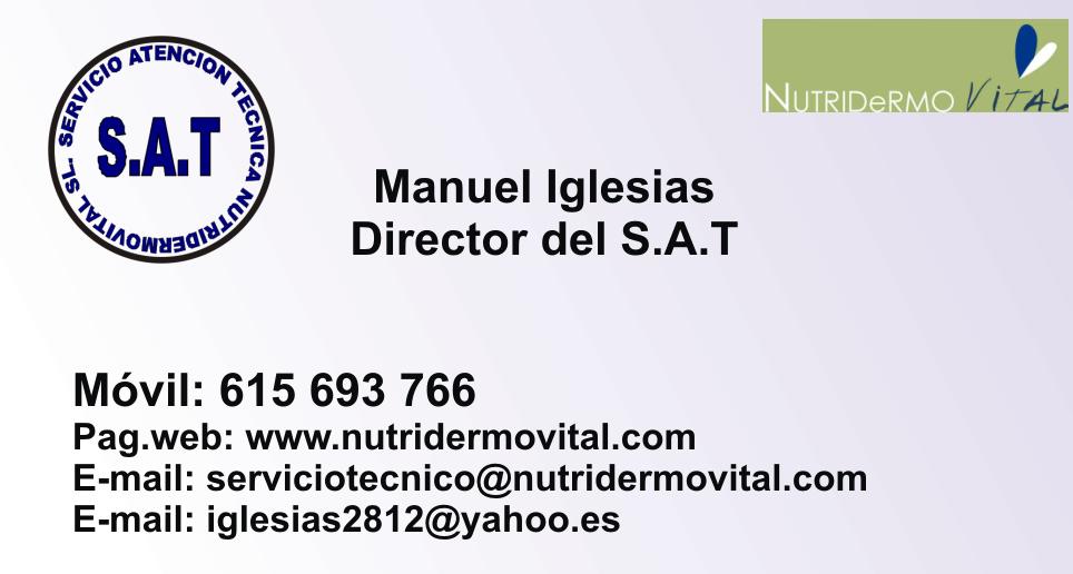 NutriDermoVital SL – Governing Areas Enterprise Staff