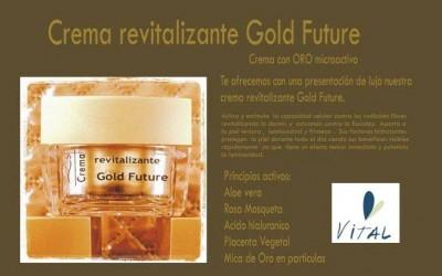 CREMA Revitalizante   GOLD FUTURE   –  Crema con ORO microactivo