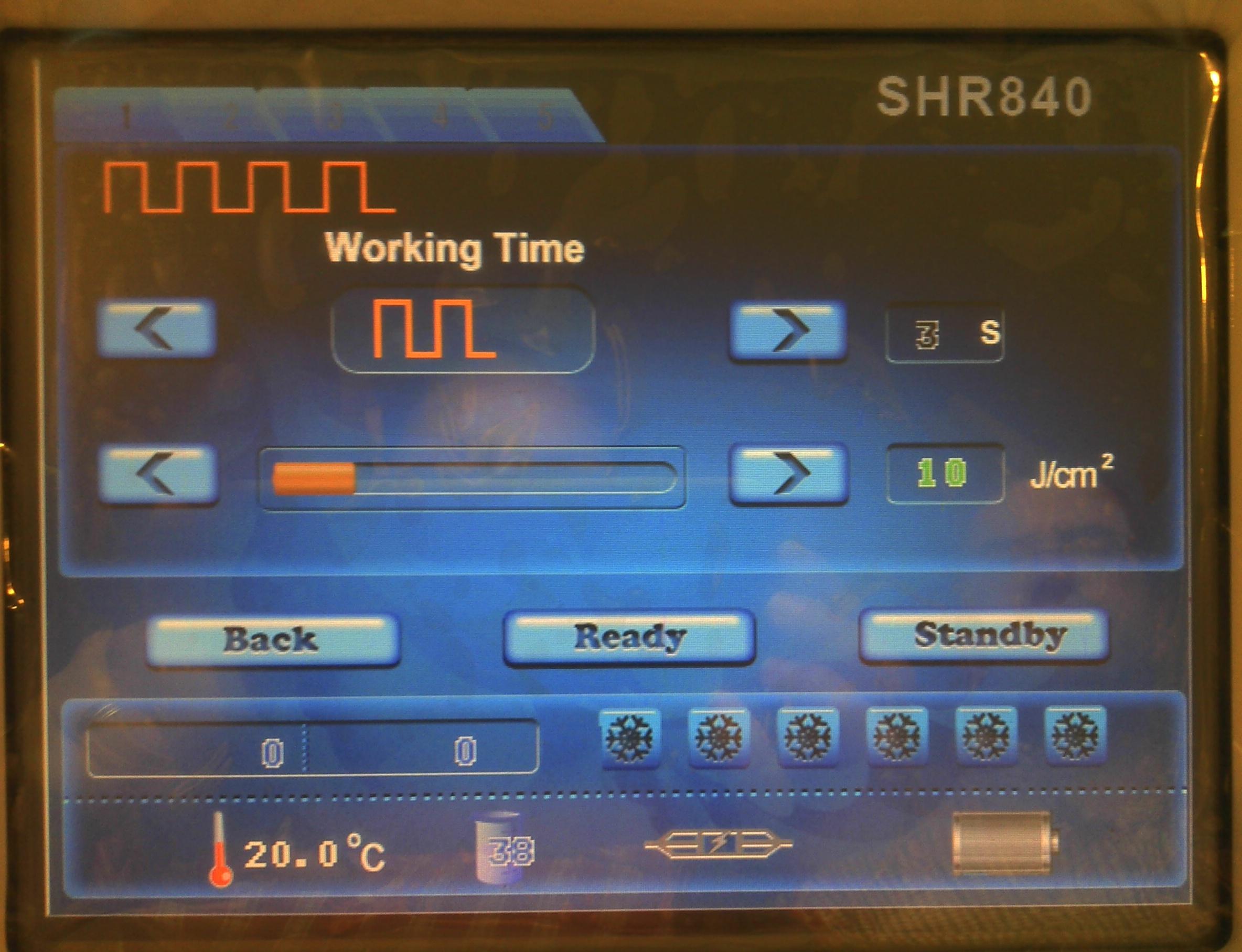NDV SHR PORTABLE  – con sistema E-light incluido