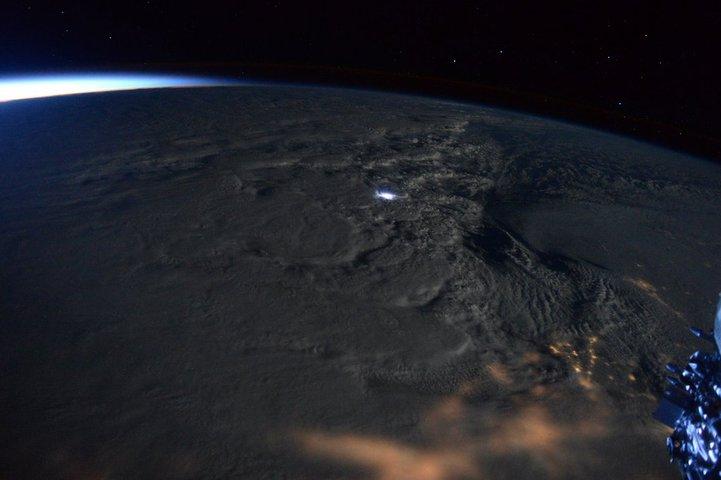 La tormenta de nieve 'Jonas' en EEUU, vista desde el espacio