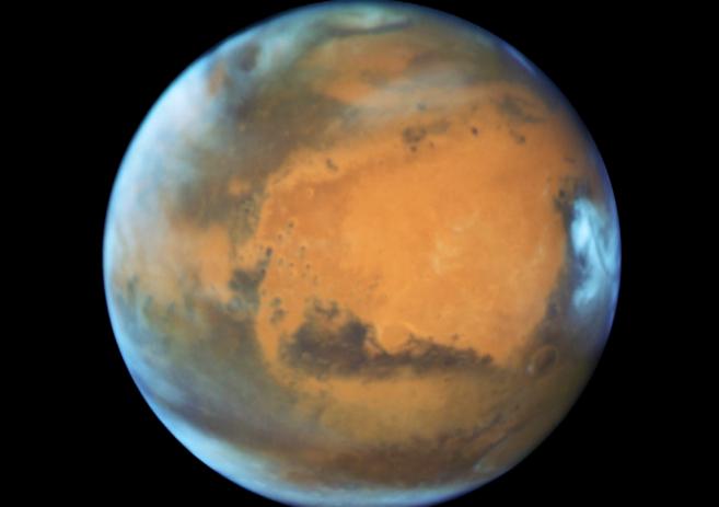 Marte y la Tierra alcanzan esta noche su máxima cercanía en 11 años