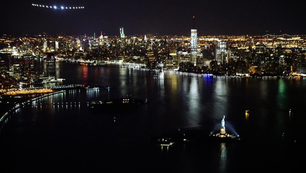 El 'Solar Impulse II' llega a Nueva York
