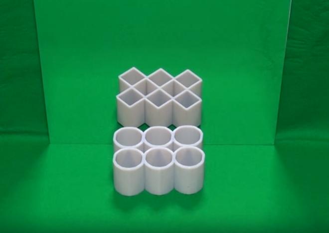 ¿Círculos o cuadrados? La ilusión óptica que arrasa en las redes sociales