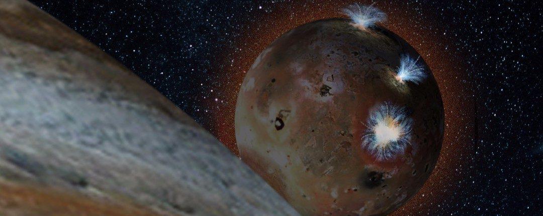 Júpiter hace 'palpitar' la atmósfera de Ío