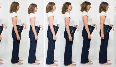 Dos tallas menos en tres meses. ¡Me abrocho mis 'jeans' de cuando era soltera!