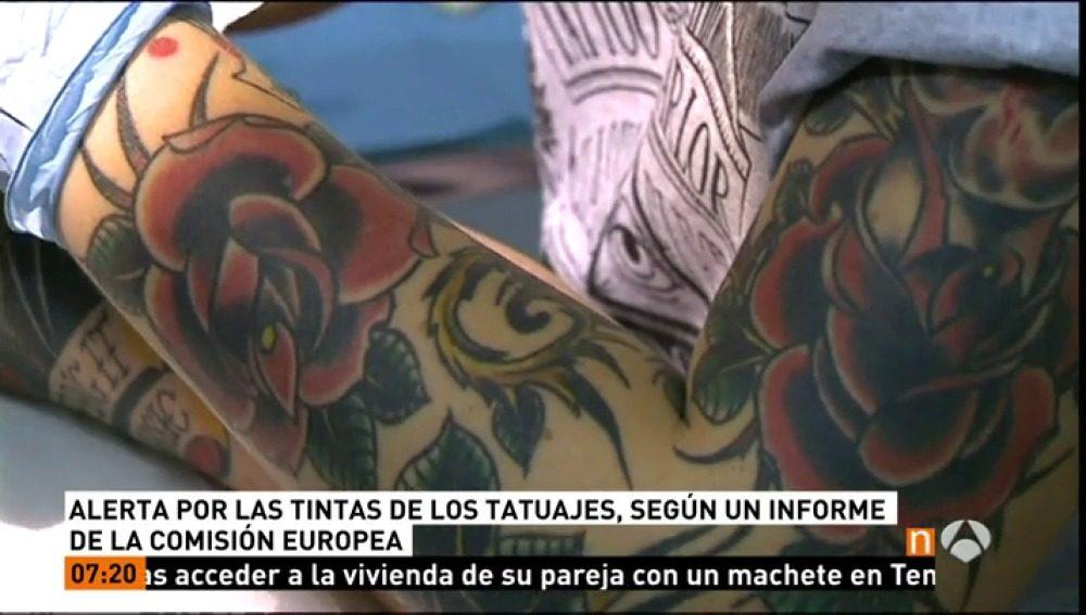 La calidad de la tinta usada en los tatuajes porque puede suponer un riesgo para la salud