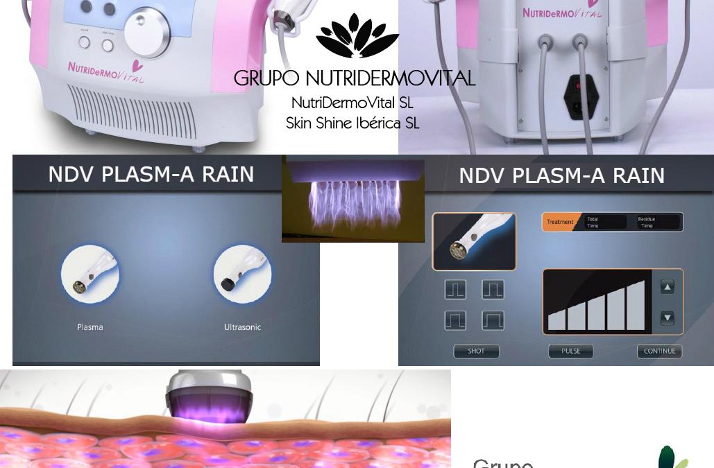 NDV Plasm-A Rain – Mesoterapia Virtual Cosmética con Plasma (Lluvia de Plasma)