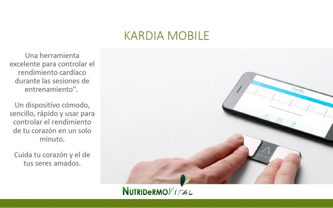 Kardia Mobile – PREVENIR MEJOR QUE CURAR