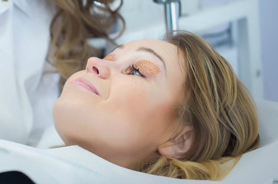 Proceso de curación de la zona tratada después del tratamiento con DGP de Plasm-A