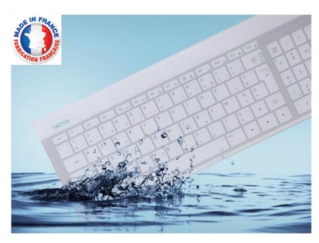 El teclado TACTYS, una herramienta eficaz contra las contaminaciones manuales