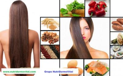 Equilibrar la alimentación e impulsar la acción de la queratina (cabello y uñas)