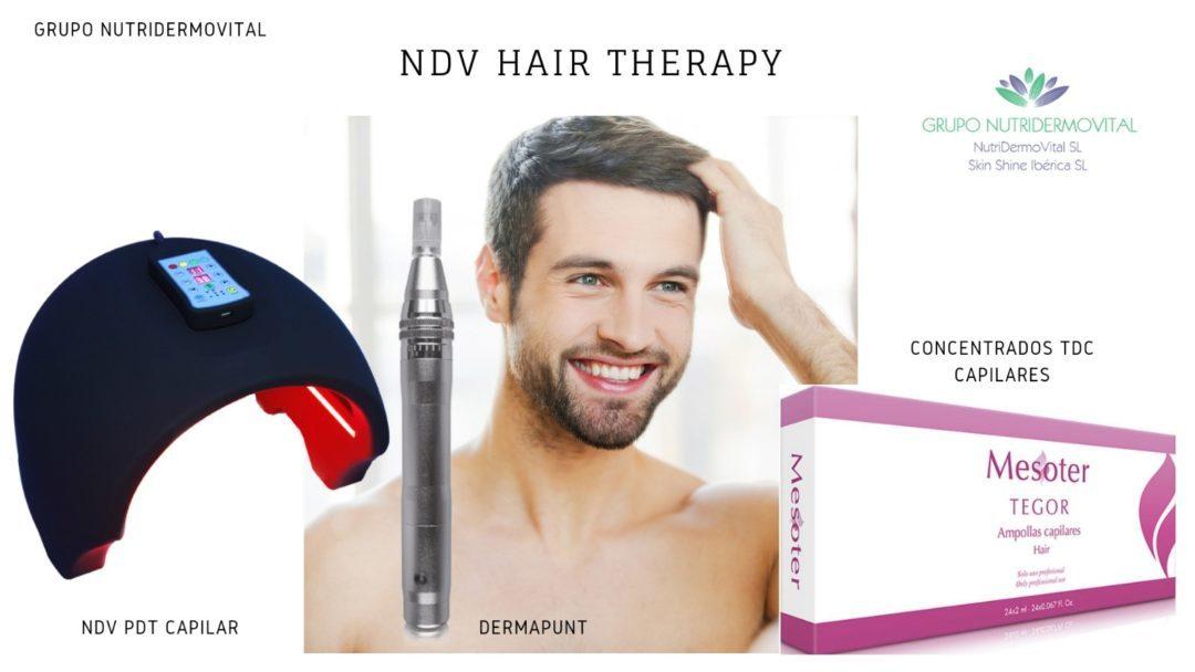 Kit NDV Hair Theraphy – Transdermal Drug Delivery System (TDDS)
