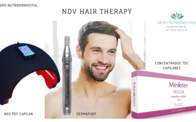 Kit  NDV Hair Theraphy – Transdermal Drug Delivery System (TDDS)