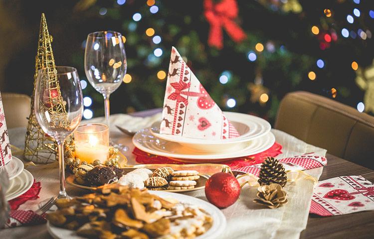 Algunos consejos para no engordar durante las celebraciones Navideñas