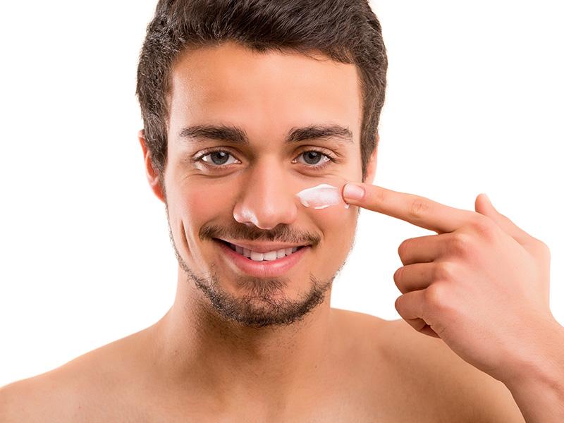 La piel del hombre, presenta diferencias importantes a la de la mujer