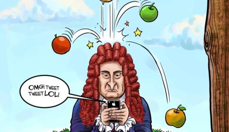 Haz Tu confinamiento productivo como Isaac Newtonen 1665 durante la peste. Durante esta pandemia Fórmate desde casa Online. Prepárate para cuando esto acabe.