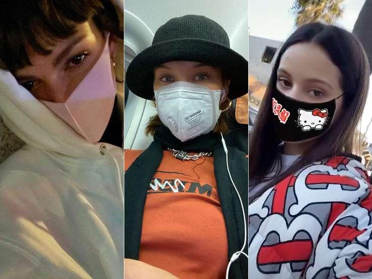 El 'maskie' selfie con mascarilla, Los foxy eyes (ojos de zorro)