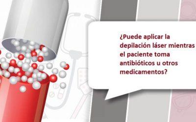 Depilación Láser, ¿Qué medicamentos o antibióticos aumentan la fotosensibilidad?